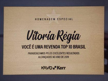 Nota de Agradecimento VITORIA REGIA ODONTO CENTER – REVENDA AUTORIZADA KAVO