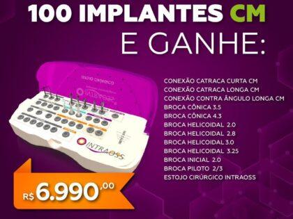 COMPRE 100 implantes CM E GANHE